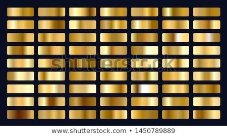 Büyük ayarlamak madeni altın geçişlerini soyut Stok fotoğraf © SArts