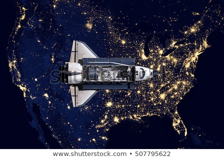 usa · ruimte · communie · afbeelding · wolken · kaart - stockfoto © nasa_images