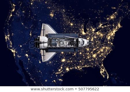 アメリカ合衆国 · スペース · 要素 · 画像 · 雲 · 地図 - ストックフォト © nasa_images