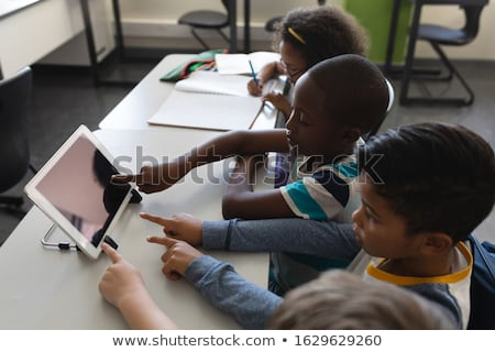 Vue étudier bureau classe Photo stock © wavebreak_media