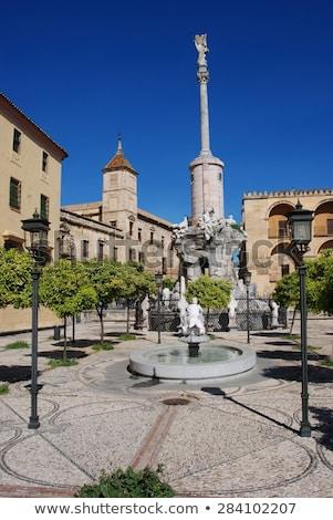 palacio · España · histórico · centro · edificio · viaje - foto stock © borisb17