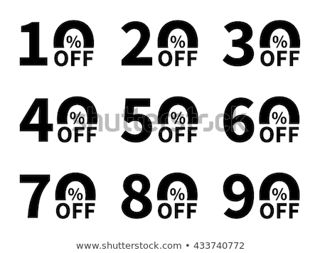 Christmas Sale 20 Percent Off Reduction Banner Stock photo © robuart
