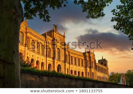 Мюнхен Германия здании домой студентов Сток-фото © borisb17