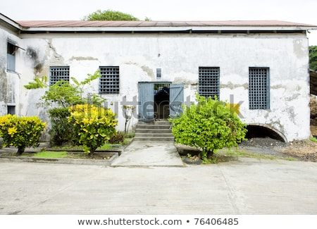 River Antoine Rum Distillery, Grenada Stock photo © phbcz