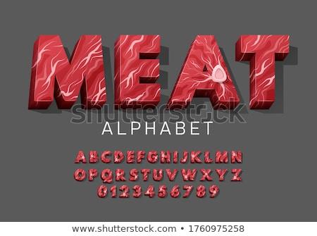meat set Stock photo © glorcza