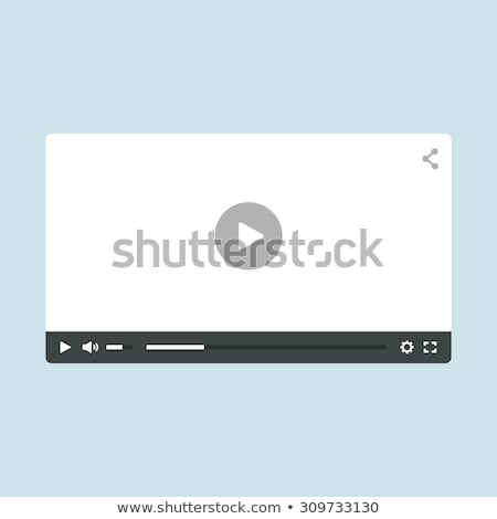 ビデオ プレーヤー 効果 勾配 ストックフォト © pkdinkar