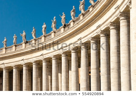 Stock photo: Colonnades at Saint Peters Square Square