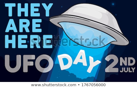 Unidentified flying object Stock photo © magraphics