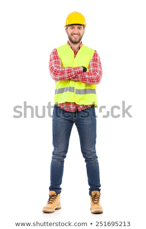 full length construction worker stock photo © photography33