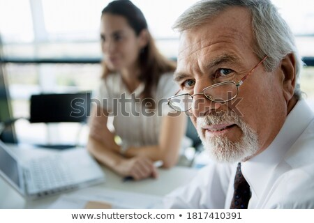 Two stern looking businesswomen Stock photo © photography33