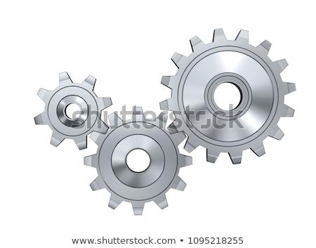 engrenagem · coleção · roda · dentada · roda · trabalhar · assinar - foto stock © ozaiachin