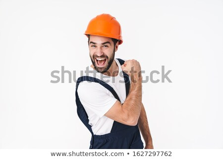 Over excited builder Stock photo © photography33