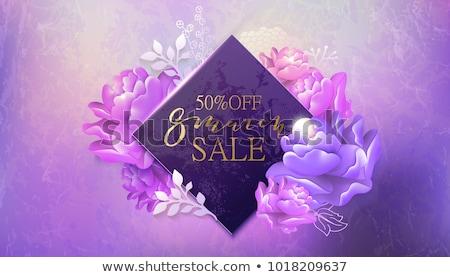 Tavasz nyár eladó háttér virágok nő Stock fotó © cherju
