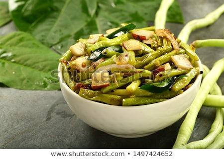 stir fried long beans Stock photo © zkruger