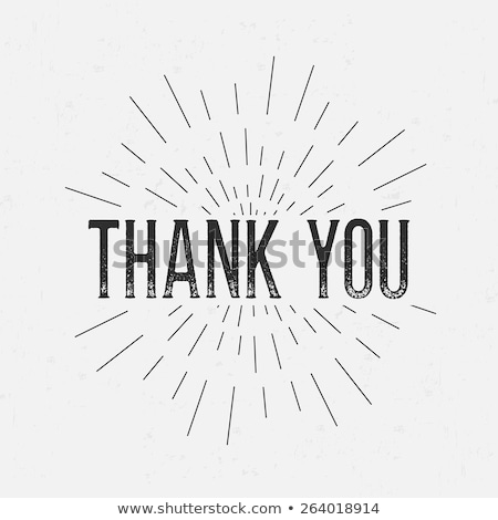Thank you rubber stamp Stock photo © IMaster