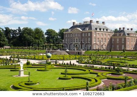 Real palácio jardim belo jardins Foto stock © Hofmeester
