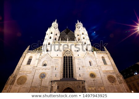 St. Stephen's Cathedral (Stephansdom) interior Stock photo © AndreyKr