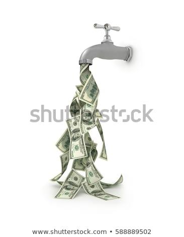áramló pénz valami beruházás üzlet kanál Stock fotó © hyrons