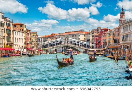 Panoramic view of amous Grand Canal  Stock photo © vwalakte