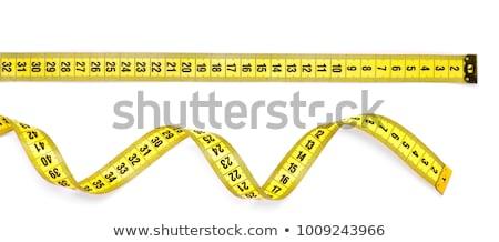 yellow measuring tape Stock photo © Grazvydas