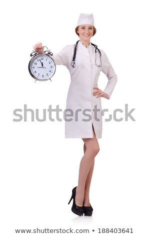 estetoscopio · reloj · tiempo · problemas - foto stock © photography33
