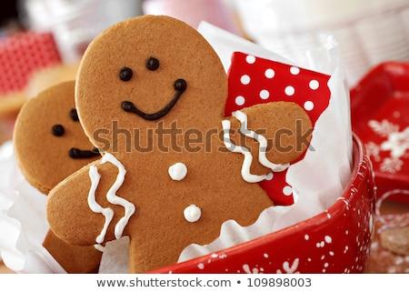 christmas · cookie · lint · liefde · natuur · verjaardag - stockfoto © Nelosa