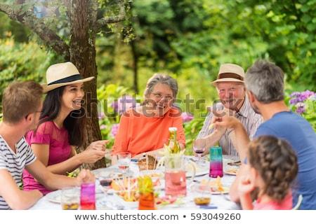 goede · tijd · moeder · mooie · familie · twee - stockfoto © get4net