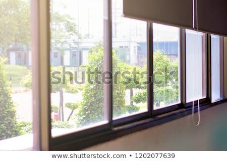 nap · ablak · alkotóelem · terv · fal · absztrakt - stock fotó © Toltek
