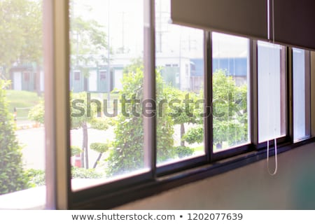 sol · janela · elemento · projeto · parede · abstrato - foto stock © Toltek