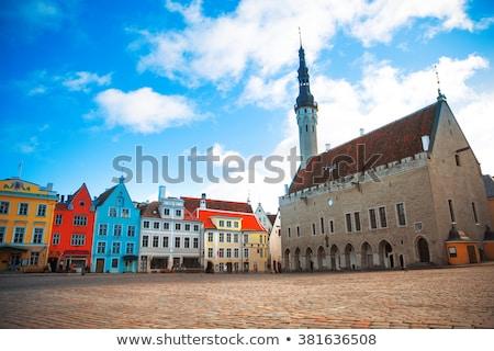 Tallinn Town Hall Stock photo © chrisdorney