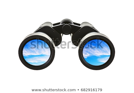 Spotting binoculars Stock photo © dgilder