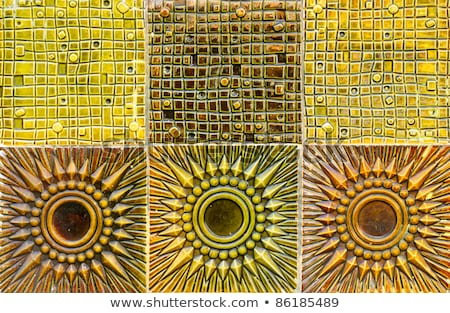 Vintage clay tile Stock photo © andromeda