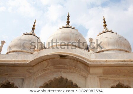 Mosque arch, Interior detail with beautiful decoration Stock photo © Taiga