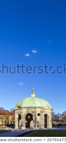 Diana tempel in Munich Germany in the Hofgarden area Stock photo © meinzahn