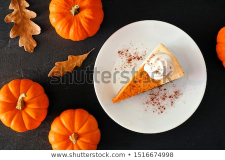 Cheesecake with fresh orange slices Stock photo © raphotos