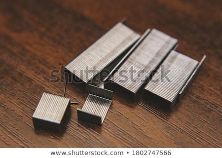 Stock photo: Construction hand-held stapler