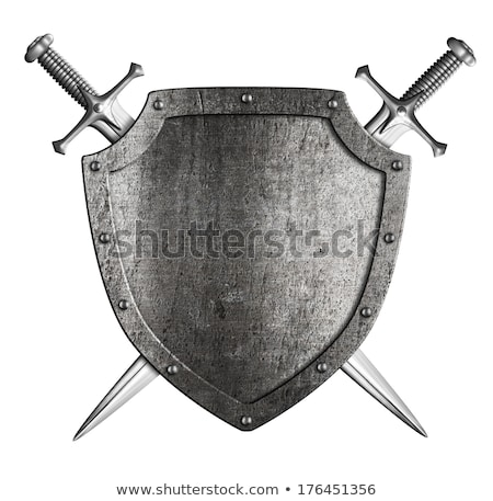 antique shield and two crossed swords stock photo © sharpner