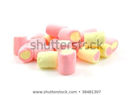 белый продовольствие конфеты Кука розовый Сток-фото © lucielang