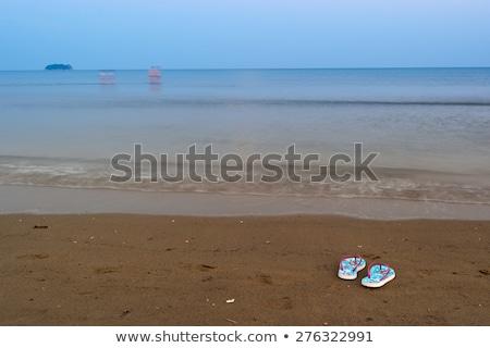 конец день Закинф пляж лет Сток-фото © Fesus