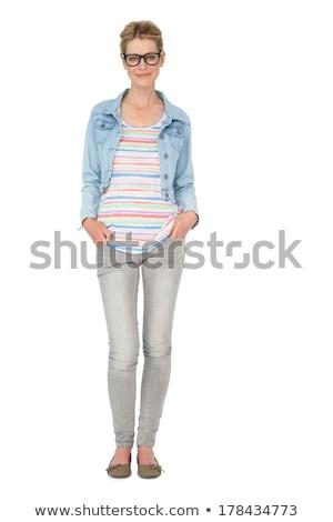 Bianco donna ritratto femminile Foto d'archivio © wavebreak_media