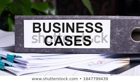 Office folder with inscription Recommended. Stock photo © tashatuvango