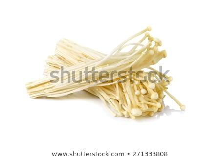 mantar · beyaz · mantar · sağlıklı - stok fotoğraf © elenaphoto