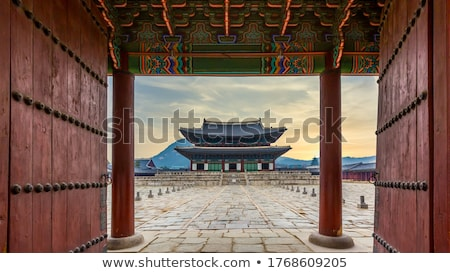 Palace at winter Stock photo © Steffus