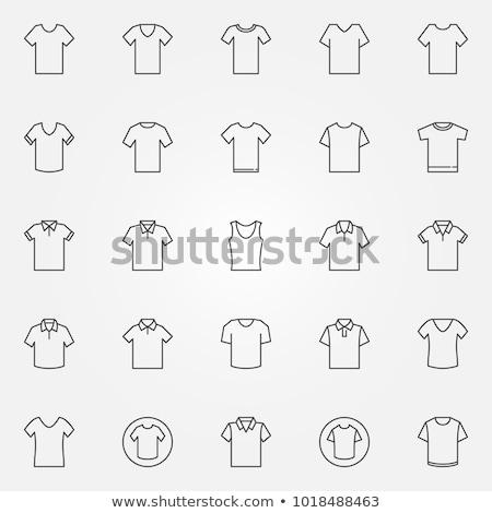 tshirt · helling · mode · ontwerp · kunst - stockfoto © kiddaikiddee