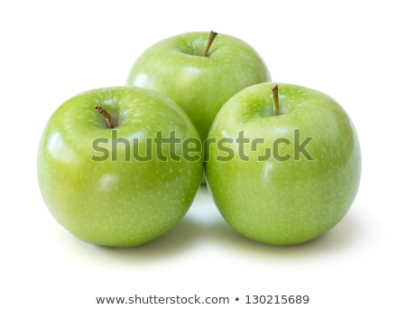 Nagyi alma kettő fehér természet háttér Stock fotó © szefei