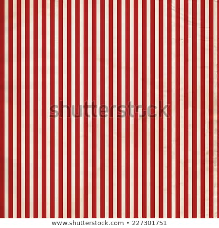 Distressed red and white stripe repeat pattern Stock photo © adamfaheydesigns