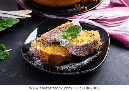pumpkin loaf Stock photo © M-studio