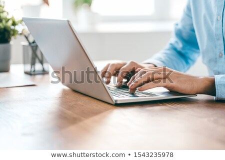 Typing On Laptop Stock photo © Pressmaster