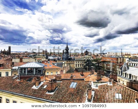 Rooftops of Toulouse in France stock photo © oliverfoerstner