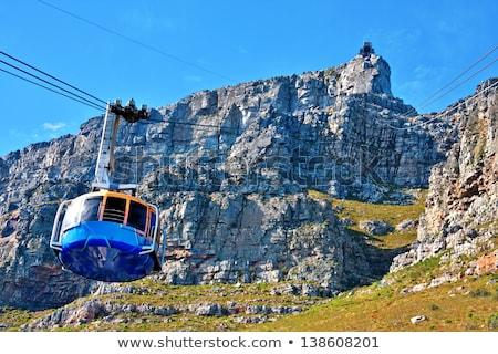 asztal · hegy · Fokváros · panoráma · kilátás · park - stock fotó © thp